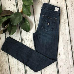 NWOT Hudson Collin Flap Skinny Jeans size 28